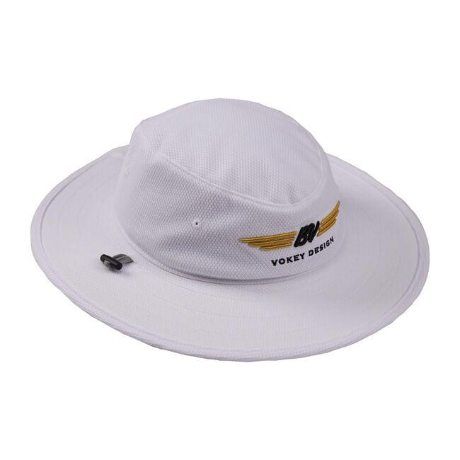 BV Wings Aussie Cap - White + Black/Gold