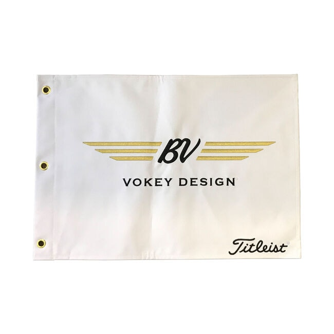 Vokey Pin Flag - White