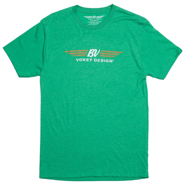 BV Wings/BV Clover T-shirt - Green