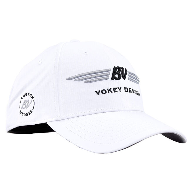 BV Wings Tour Elite Cap - White/Black/Silver