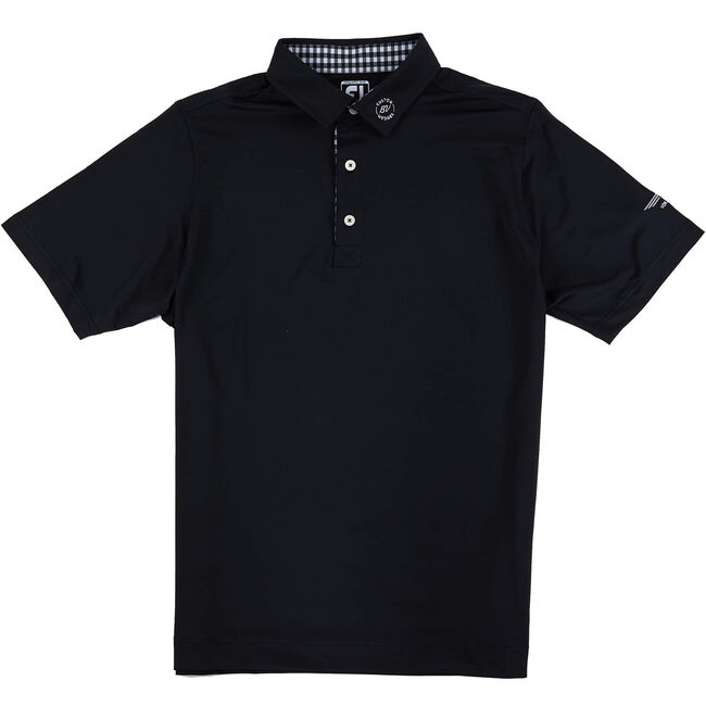 FJ ProDry Performance Lisle Solid - Athletic Fit - Black