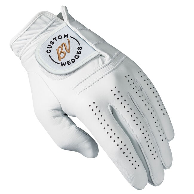 Titleist Players Glove w/ BV Custom Wedges Logo - Black/Gold