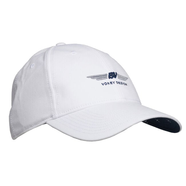 BV Wings Nantucket Cap - White/Navy/Grey