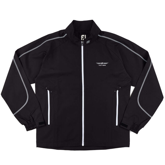 FJ Full-Zip Sport Windshirt - Black