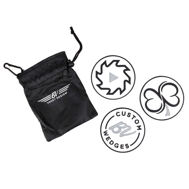 Vokey Chipping Disc Set - Black/White/Silver