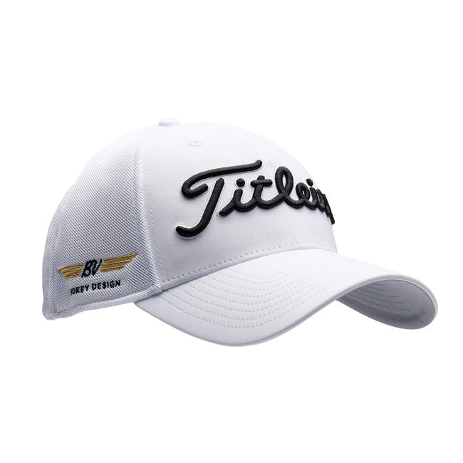 Vokey Tour Sports Mesh Cap - White/Black/Gold