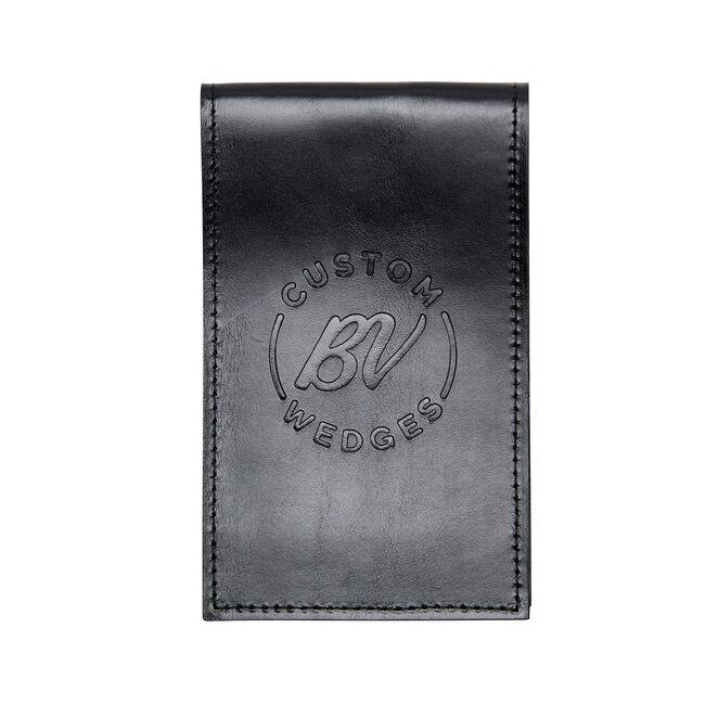 Vokey Leather Yardage Book & Scorecard Holder - Black