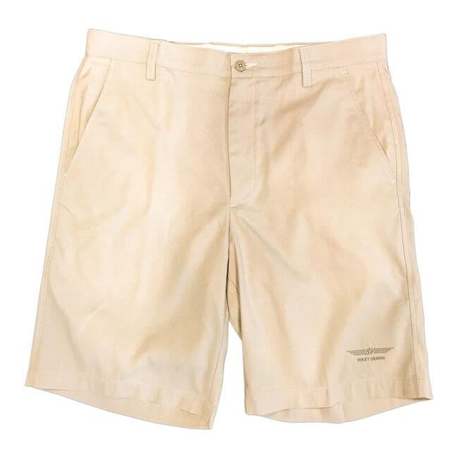 Chambray Shorts - Khaki