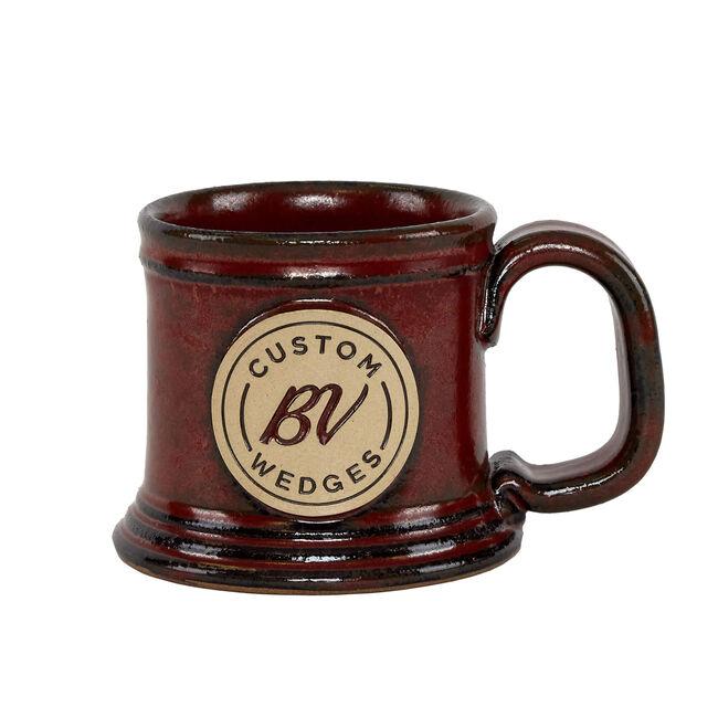 BV Custom Wedges Mug - Sunfire Red