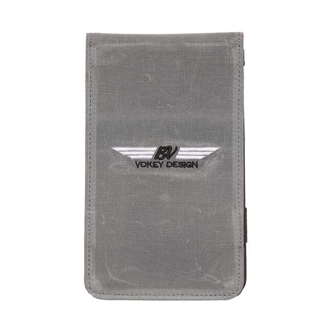 BV Wings Yardage Book & Scorecard Holder - Charcoal