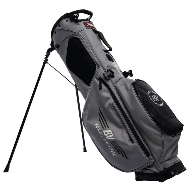 Vokey Players 4 Stand Bag - Grey + Black/White