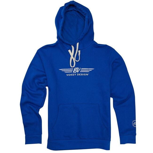 BV Wings Hoodie - Royal Blue + White/Silver